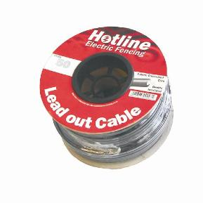 HOTLINE 25M INSULATED LEAD OUT/UNDERGROUND CABLE HT25G