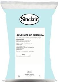 SINCLAIRS 3KG SULPHATE OF AMMONIA