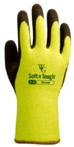 TOWA SOFT AND TOUGH YELLOW GLOVES