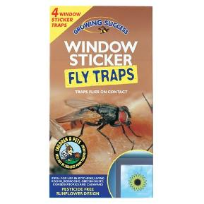 GROWING SUCCESS WINDOW STICKER FLY TRAP