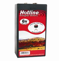 HOTLINE 6V ENERGISER BATTERY P44