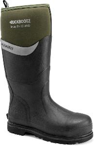BUCKLER BOOTS S5 SAFETY WELLINGTON BBZ6000 GREEN