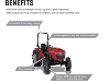BRANSON 5025R '25' SERIES ROPS MANUAL COMPACT TRACTOR