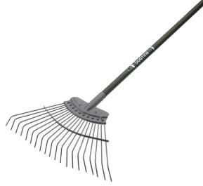 BULLDOG EVERGREEN STEEL LAWN RAKE