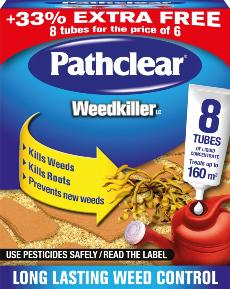 PATHCLEAR 8 WEED KILLER TUBES
